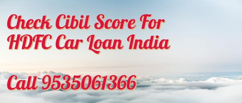 Hdfc Used Car Loan Interest Rate
